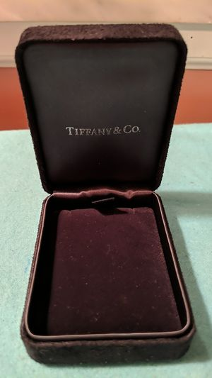 Tiffany & Co necklace presentation box for Sale in McKeesport, PA