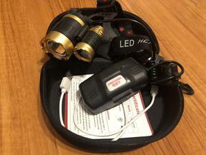 Headlamp flashlight for Sale in Azusa, CA