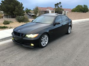 2008 BMW 328i SPORT PACKAGE JET BLACK LEATHER COLD A/C GOOD CONDITION CLEAN TITLE for Sale in Henderson, NV