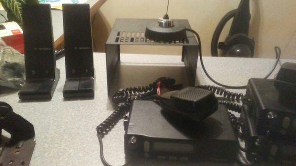 Motorola M1225-LS two way radios