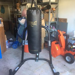 Everlast punching bag for Sale in Andover, MA