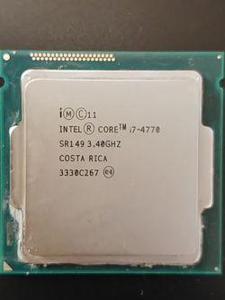 Intel Core i7-4770 Quad-Core 3.4GHz Desktop CPU Processor 8MB Cache 84W LGA 1150 for Sale in Kirkland,  WA