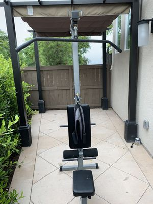 Weight machine set for Sale in San Diego, CA