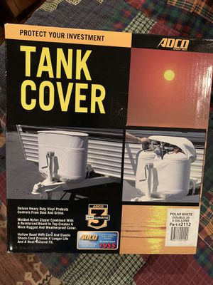 Double tank cover for Sale in West Dundee, IL