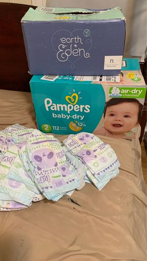 Baby pampers all together for Sale in The Bronx, NY