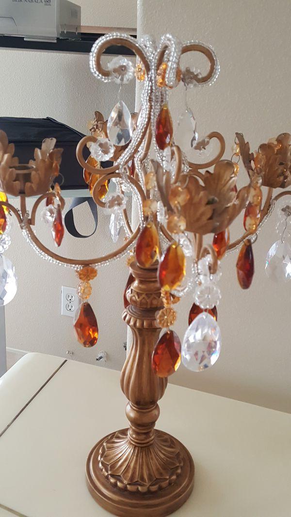 3 candelabras