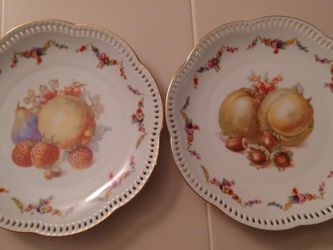 Beautiful Antique Schumann Germany China Plates for Sale in Winter Park,  FL