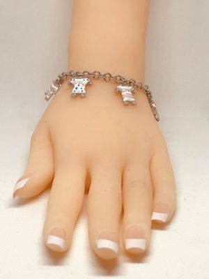 """BABY CHARMS BRACELET"""" - SOLID 925 STERLING SILVER for Sale in Desert Hot Springs, CA"""