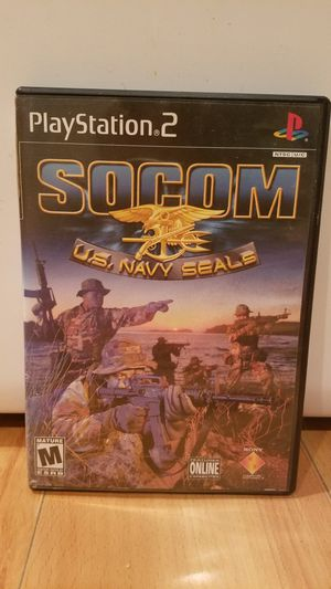 Socom U.S. Navy Seals Playstation PS2 Video Game for Sale in Lake Stevens, WA