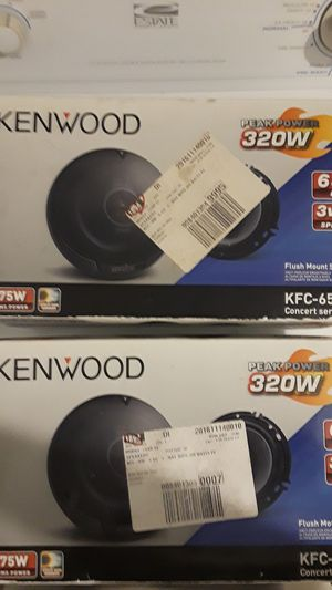 Kenwood 6-1/2 inch speakers brand new 25firm for Sale in Kingsport, TN