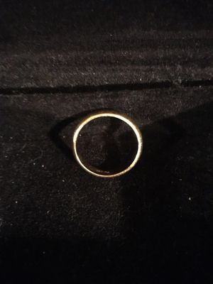 Gold 14 k Men's wedding ring size 11 for Sale in Camp Hill, PA