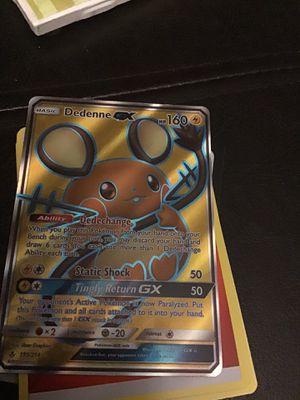 Pokémon Dedenne GX for Sale in Lakewood, CA