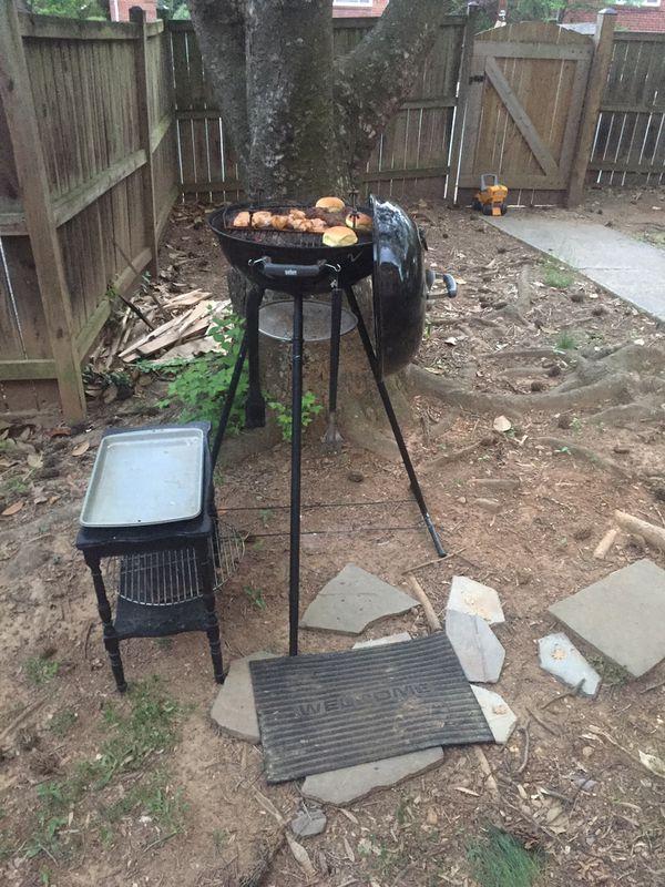 Weber grill 5'5 tall custom