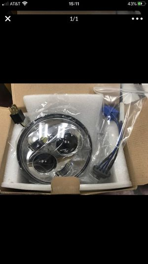 Motorcycle 5-3/4 5.75 LED Headlight for Harley Davidson for Sale in San Leandro, CA