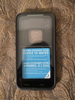 LifeProof Fre iPhone X Waterproof Case for Sale in Yucaipa, CA