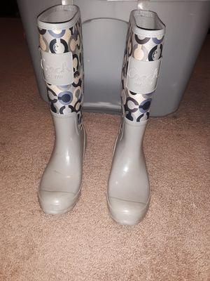 Coach Rain Boots for Sale in Concord, NC