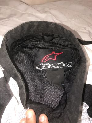 Alpinestar motorcycle jacket with padding for Sale in Queens, NY