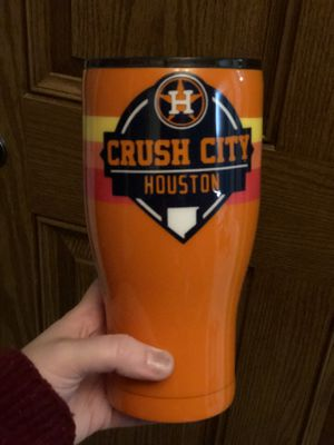 Custom Astros tumbler for Sale in Houston, TX