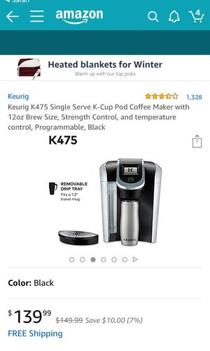 Keurig coffee maker for Sale in Vienna, VA