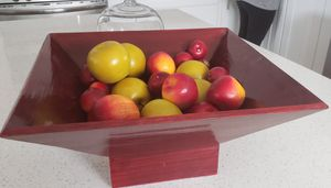 Bowl with artificial fruit home decor for Sale in Lakewood, CA