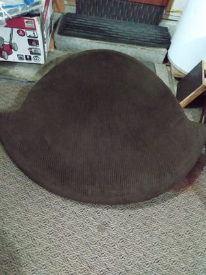 "Almost new, dark brown 41 ""D chair cushion for Sale in Kent, WA"