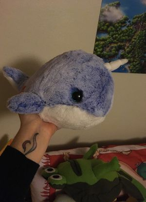 Cute Narwhale plush for Sale in Puyallup, WA