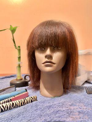 Brown hair mannequin for Sale in Ellenwood, GA