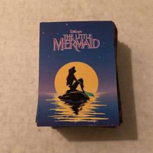 Complete 1991 Disney The Little Mermaid Set. Over 90 Cards Asking $30 for Sale in Roseville, CA
