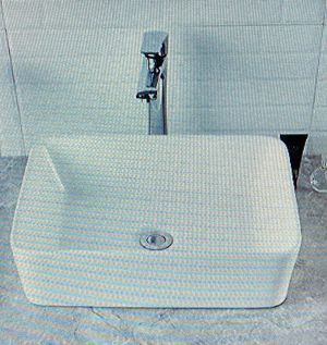 """Brand new modern white porcelain bathroom vessel sink, above the counter. 15"""" x 19"""" x 5.5"""". Still in the box. $90. Price is firm. Pick up only. for Sale in Newport Beach, CA"""