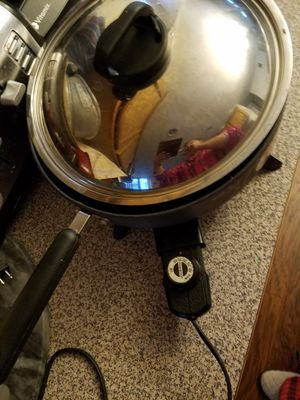 Electric cooking pan for Sale in Everett, WA