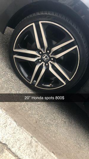 """20"""" Honda spot rims for Sale in North Providence, RI"""