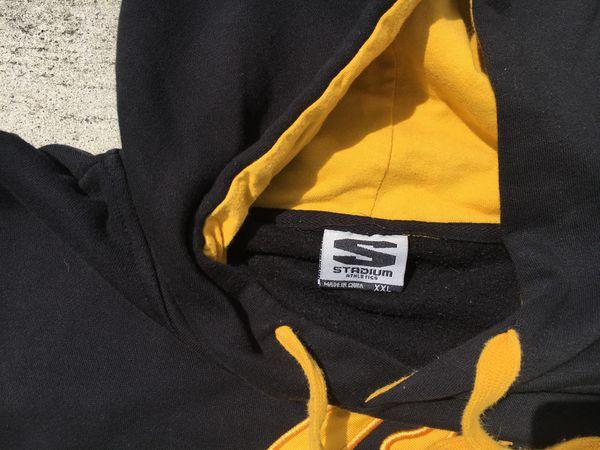 Black & Yellow UC Berkeley Cal Hoodie 2XL
