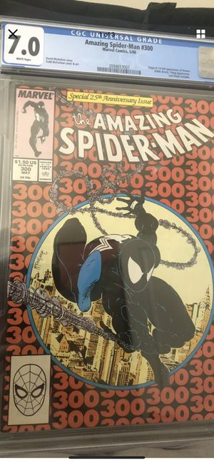 AMAZING SPIDER-MAN #300 COMIC BOOK KEY ISSUE CGC AUTHENTICATED AND ENCAPSULATED/ TRADES WELCOME for Sale in Los Angeles, CA