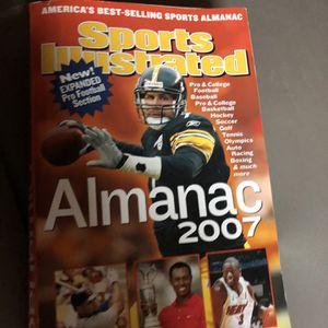 Sports Illustrated Sports Almanac 2007 for Sale in Vista, CA