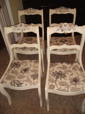 Four rose back antique chairs for Sale in Nashville, TN