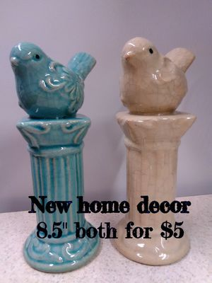 Adorable home decor birds-$5 for Sale in University Place, WA