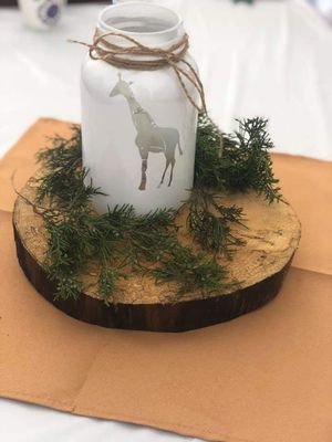Mason jars for center pieces for Sale in Plainfield, NJ
