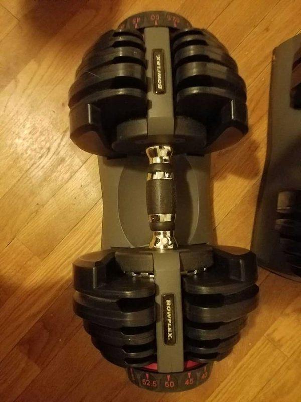 Bow flex weights