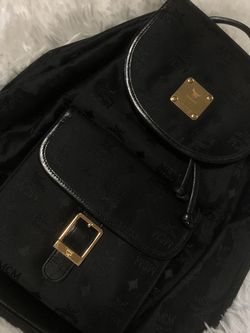 MCM Nylon Drawstring Backpack for Sale in Englewood,  NJ