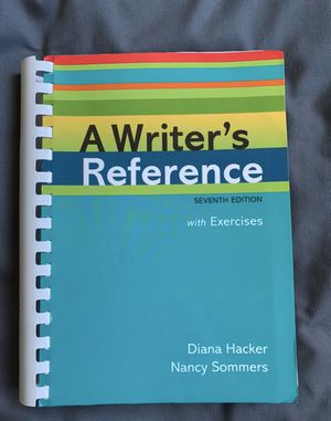 A Writer's Reference with exercises for Sale in Daly City, CA