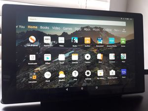 Kindle Fire HD 10 with charging dock for Sale in Miami, FL