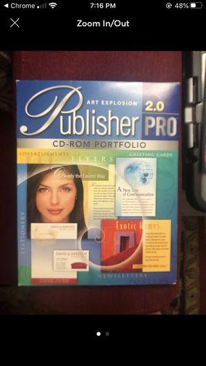 Publisher Pro CD-ROM Portfolio 2.0 for Sale in Coconut Creek, FL