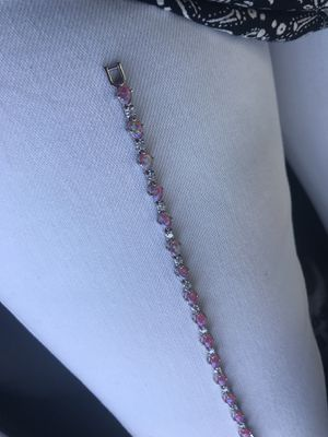 Opal and diamond bracelet for Sale in El Paso, TX