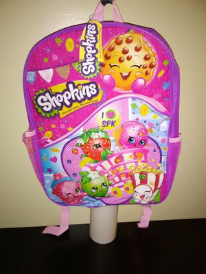 "Brand New ""Shopkins I ♥ SPK"" Backpack $20 OBO for Sale in Lithonia, GA"
