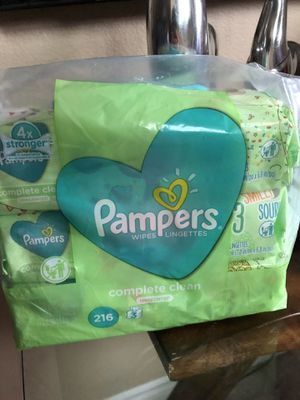 Pampers wipes for Sale in Perris, CA