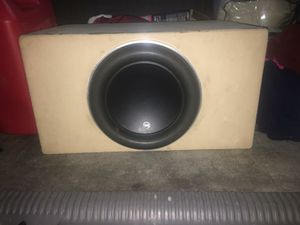 JL Audio W7 12 inch Subwoofer for Sale in Renton, WA