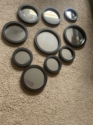 10 assorted wall mirrors for Sale in Hyattsville, MD