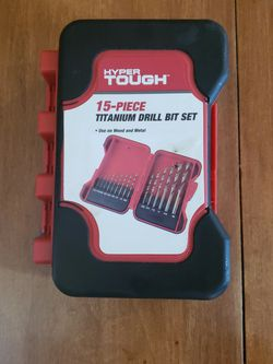 15 Bit Drill Set, Barely Used. for Sale in Normal,  IL