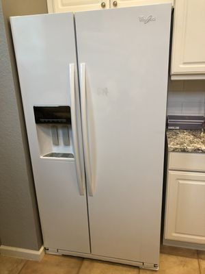 Whirlpool side-by-side refrigerator for sale for Sale in West Palm Beach, FL