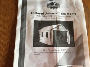 King Canopy 10ft x 20ft for Sale in Swatara, PA